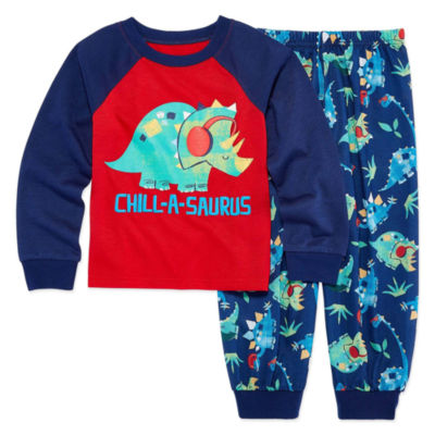 Kids Dinosaur Pajama Set Boys