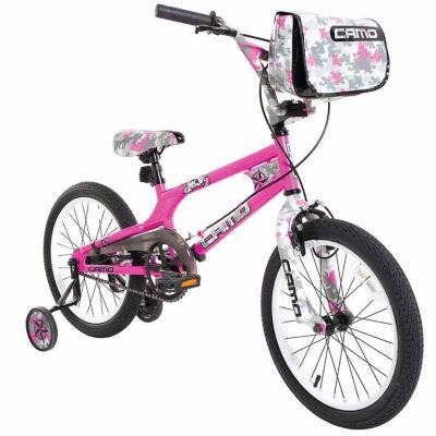 """18"""" Girls Camo Decoy Bike"""