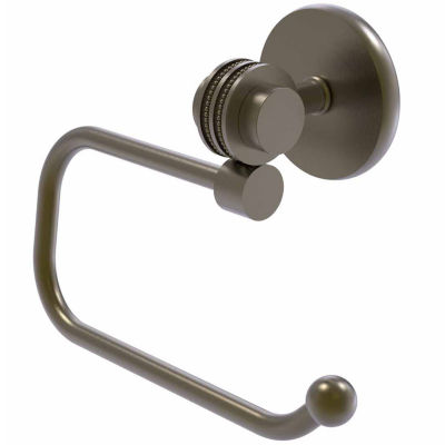 Allied Brass Satellite Orbit Two Collection Euro Style Toilet Tissue Holder with Dotted Accents