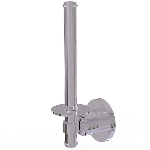 Allied Brass Washington Square Collection UprightToilet Tissue Holder