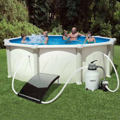 Blue Wave SolarCurve™ Solar Heater for Above Ground Pools