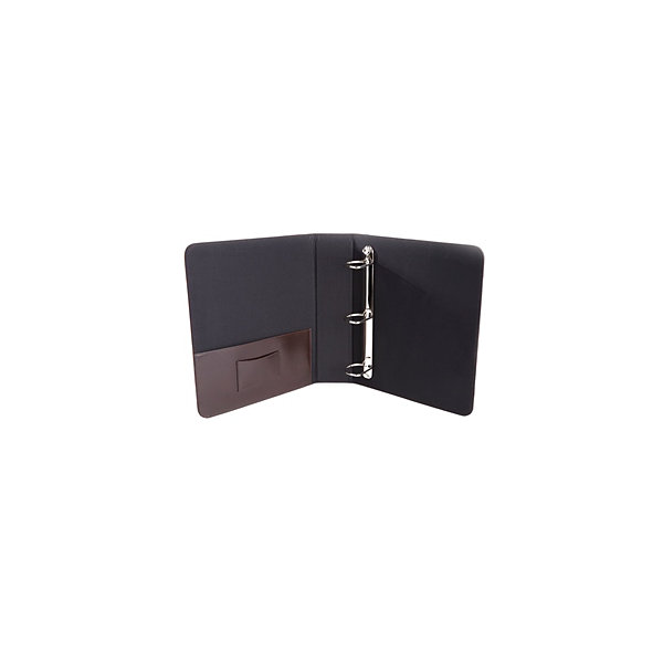 "Royce Leather Leather 2"" D-Ring Executive Binder"