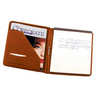 Royce Leather Cowhide Genuine Leather Portfolio With Writing Pad Padfolio