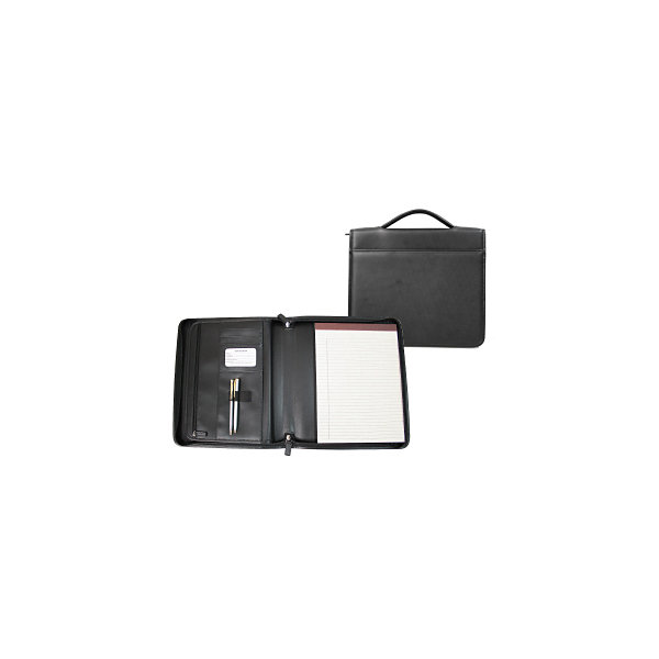 Royce Leather Leather Ziparound Padfolio