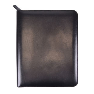 Royce Leather Zippered iPad Writing Portfolio