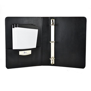 "Royce Leather Luxurious Boned Leather 1.5"" Executive Binder"