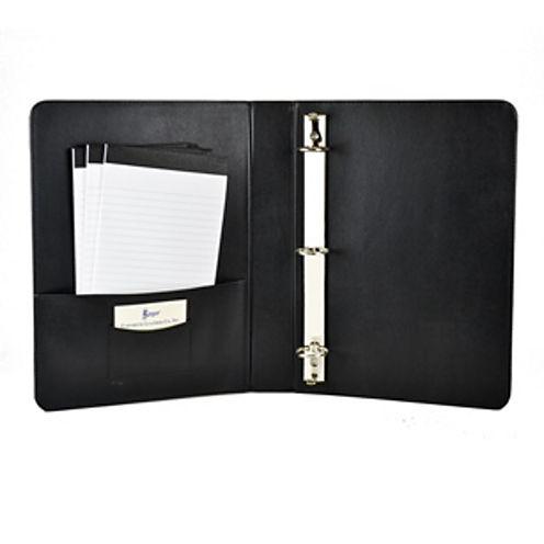 "Royce Leather Luxurious Boned Leather 1.5"" Executive Binder"