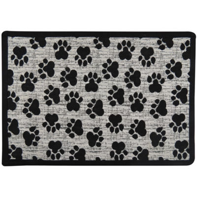 "P. B. Paws by Park B. Smith® 13"" x 19"" Mini Paws Pet Mat"