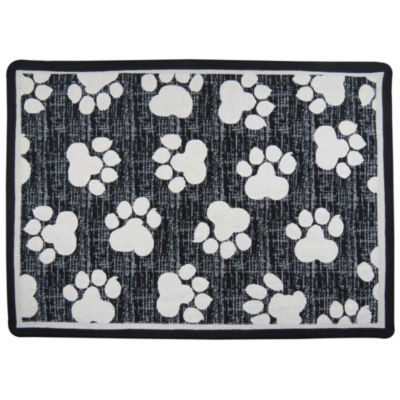 "P. B. Paws by Park B. Smith® 13"" x 19"" World Paws Pet Mat"