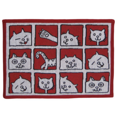 "P. B. Paws by Park B. Smith® 13"" x 19"" Cat Album Pet Mat"