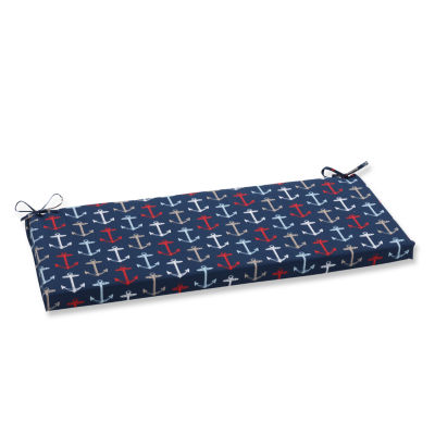 "Pillow Perfect 40"" Outdoor Anchor Bench Cushion"