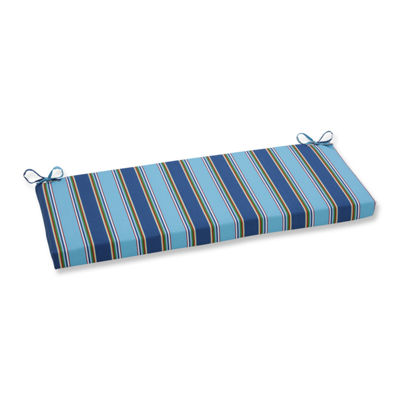 "Pillow Perfect 40"" Outdoor Bonfire Regata Bench Cushion"