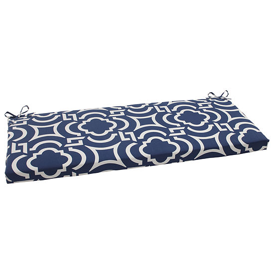 "Pillow Perfect 45"" Outdoor Carmody Bench Cushion"""