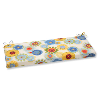 "Pillow Perfect 40"" Outdoor Crosby Bench Cushion"