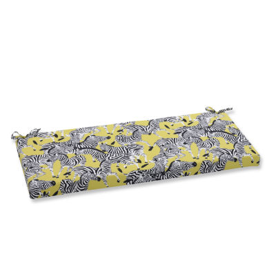 """Pillow Perfect 40"""" Outdoor Herd Together Bench Cushion"""
