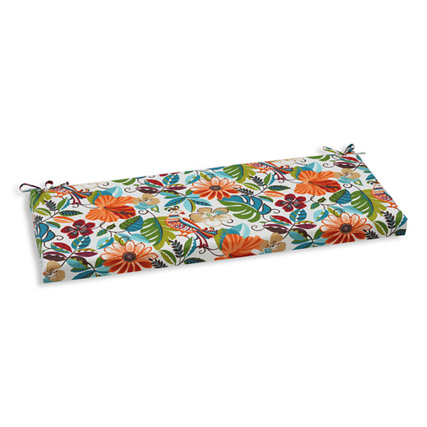 "Pillow Perfect 40"" Outdoor Lensing Bench Cushion"