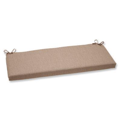 "Pillow Perfect 40"" Outdoor Linen Bench Cushion"