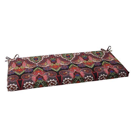 "Pillow Perfect 40"" Outdoor Marapi Bench Cushion"
