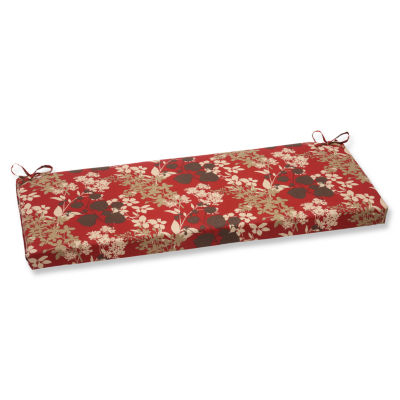 "Pillow Perfect 40"" Outdoor Montifleuri Bench Cushion"