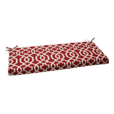 "Pillow Perfect 40"" Outdoor New Geo Bench Cushion"