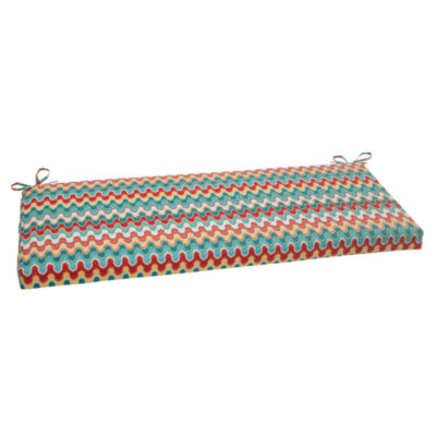 "Pillow Perfect 40"" Outdoor Nivala Bench Cushion"
