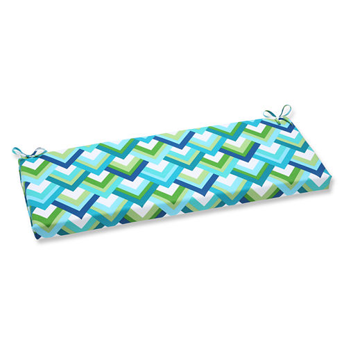 """Pillow Perfect 40"""" Outdoor Resort Bench Cushion"""