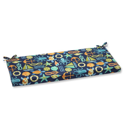 "Pillow Perfect 40"" Outdoor Seapoint Bench Cushion"