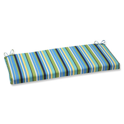 "Pillow Perfect 40"" Outdoor Topanga Bench Cushion"