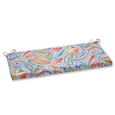 "Pillow Perfect 40"" Outdoor Ummi Bench Cushion"