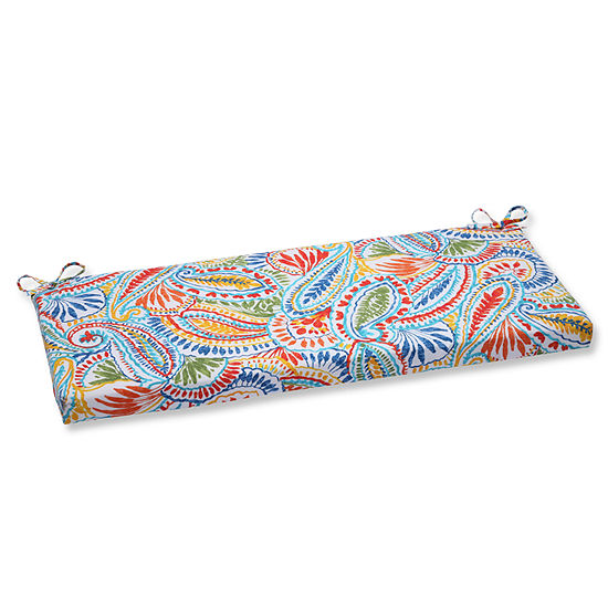 "Pillow Perfect 40"" Outdoor Ummi Bench Cushion"
