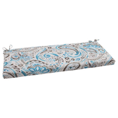 "Pillow Perfect 40"" Outdoor Vermilya Bench Cushion"