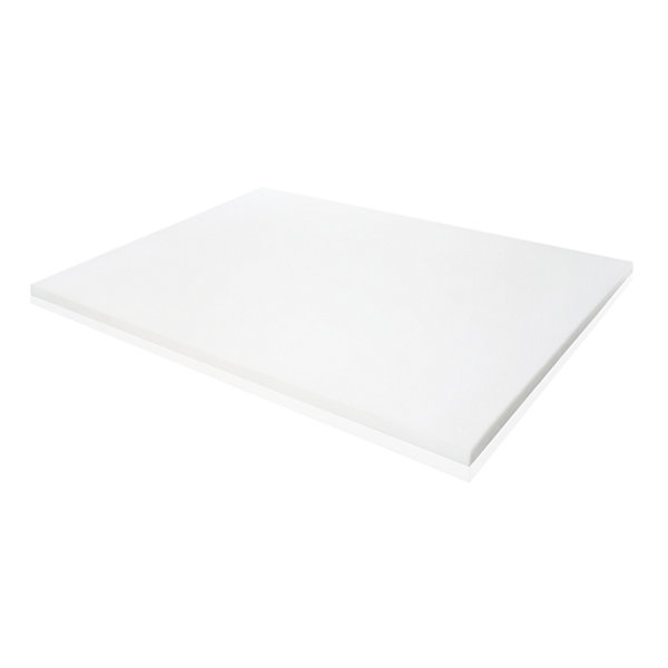 Malouf Isolus 2 Inch Ventilated Memory Foam Mattress Topper