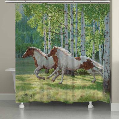 Laural Home Aspen Run Shower Curtain