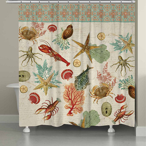 Laural Home Beyond The Surf Shower Curtain