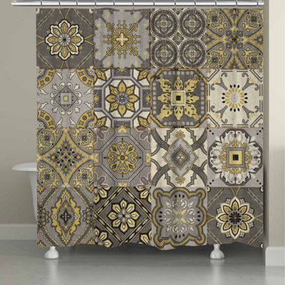 Laural Home Granada Shower Curtain