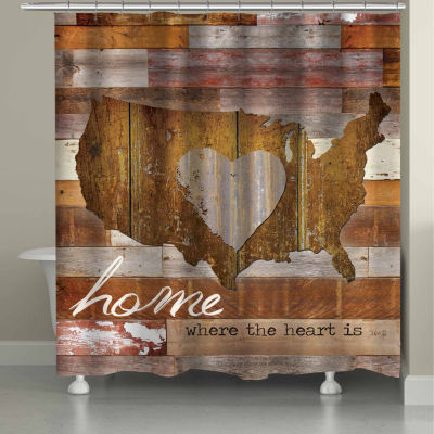 Laural Home Land That I Love Shower Curtain