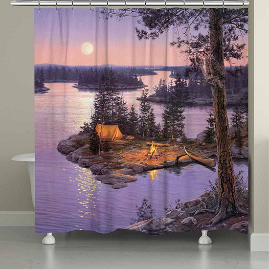 Laural Home Moondance Shower Curtain