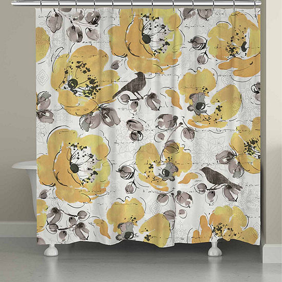 Laural Home Morning Glory Shower Curtain