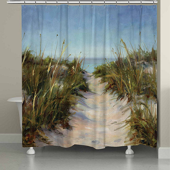 Laural Home Sand Dunes Shower Curtain