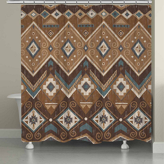 Laural Home Santa Fe Shower Curtain