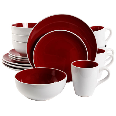 Gibson Chicstone 16-pc. Dinnerware Set
