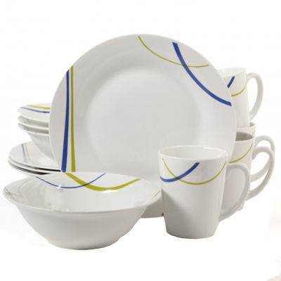 Gibson Divine Streams 12-pc. Dinnerware Set