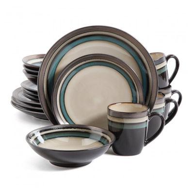 Gibson Elite Lewisville 16-pc. Dinnerware Set  sc 1 st  JCPenney & Gibson Elite Lewisville 16-pc. Dinnerware Set - JCPenney