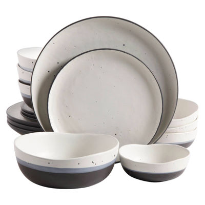 Gibson Elite Rhinebeck 16-pc. Stoneware DinnerwareSet