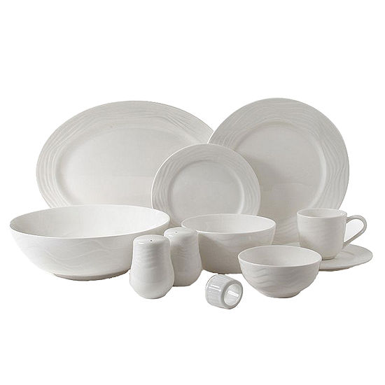 Gibson Home Eventide 46-pc. Dinnerware