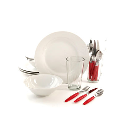 Gibson Home Total Kitchen 24-pc. Dinnerware Set