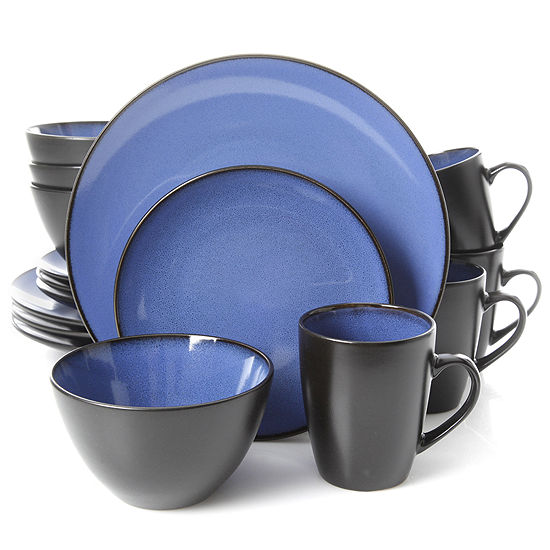 Gibson Soho Lounge Round 16 Pc Dinnerware Set