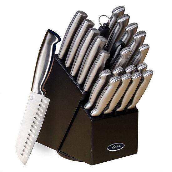 Oster Baldwyn 22 Pc Cutlery Block Set