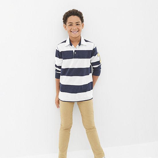 Arizona Little & Big Boys Stretch Slim Fit Jean