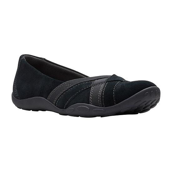Clarks Womens Haley Jay Slip-On Shoe